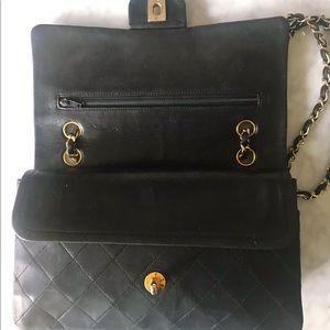 CHANEL Bags - Vintage Chanel Medium Double Flap Lambskin
